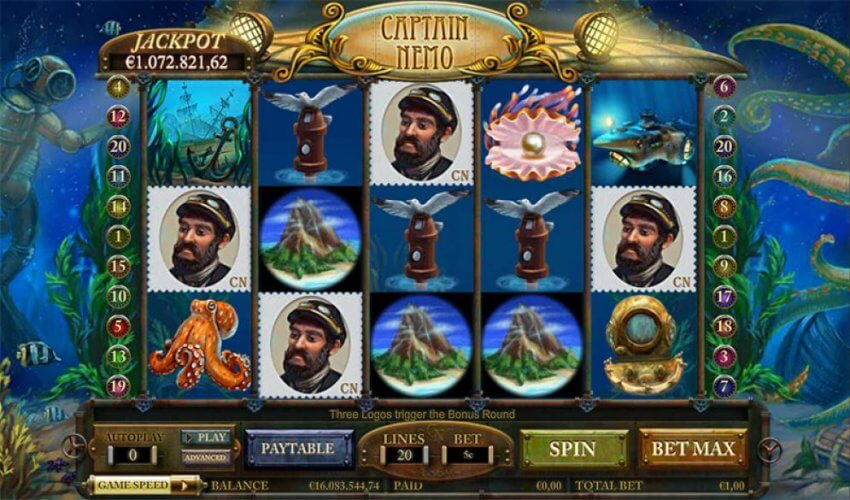 Captain-Nemo-Jackpot-Slot